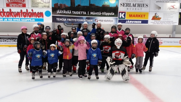 Girsl Hockey Day 9.10.2016 Pihlajalinna-Areenalla